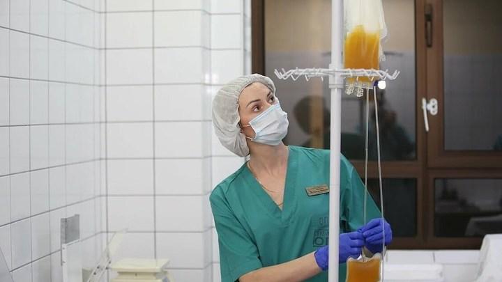 На Кубани коронавирусных больных с поражением легких 90% спасают переливанием антиковидной плазмы
