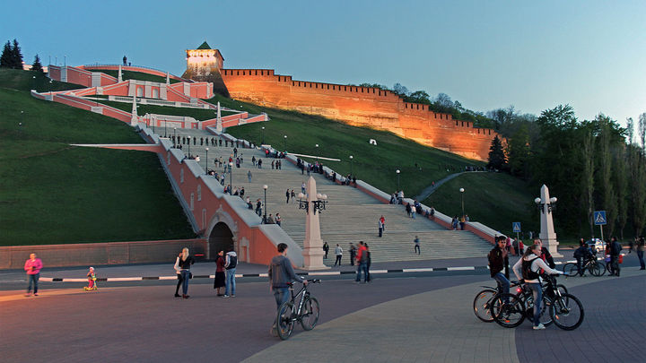 Церемонию открытия Чкаловской лестницы можно будет посмотреть в прямом эфире