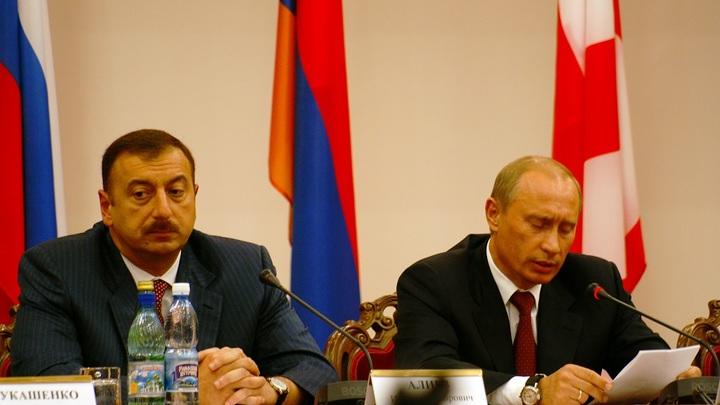 Путин и Алиев отметили рост двустороннего товарооборота в торговле