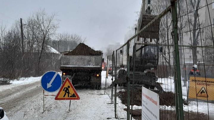 Оставившую без тепла более 10000 ивановцев аварию планируют устранить до 18.00