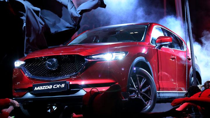 В России стартовали продажи Mazda CX-5 нового поколения