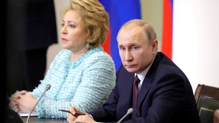 Матвиенко заявила главе ПАСЕ о зреющем решении о выходе России из организации
