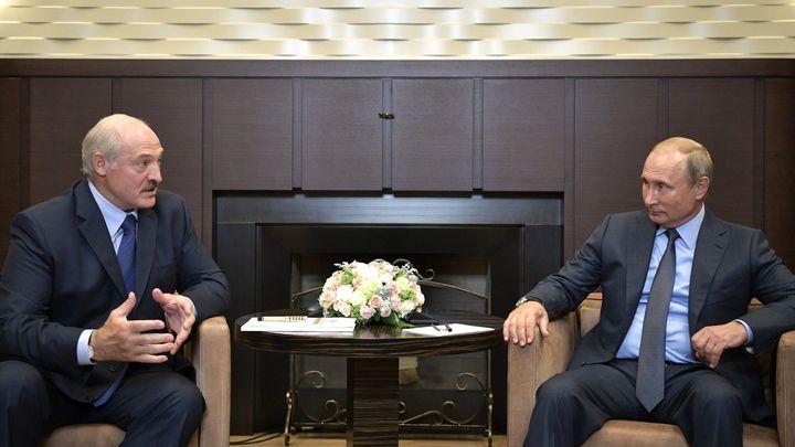 «Неправильные у вас расчеты!»: Путин и Лукашенко поспорили о ценах на газ - видео