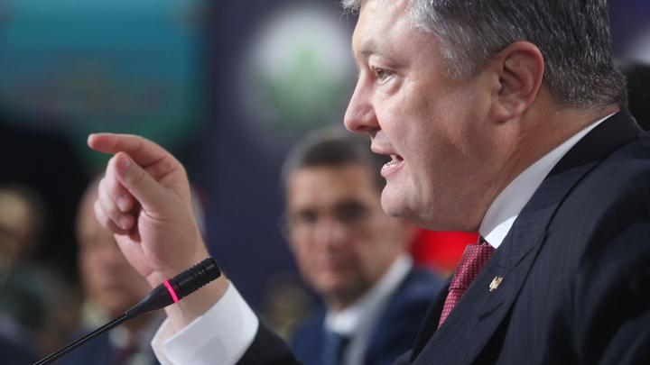Порошенко похвалил нового командующего карательной операцией в Донбассе за убийства