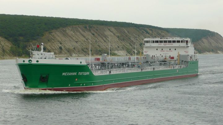 Пьяный украинецатаковал «Механика Погодина»: Арестованный танкер попал ваварию