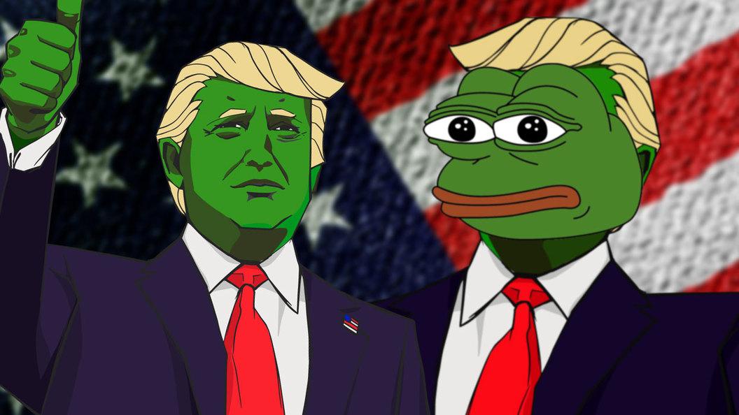 Трамп - мем, или как в США пытаются прикрыть конспирологией очевидные вещи