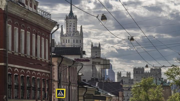 Желтый уровень опасности: Москве угрожают пожары