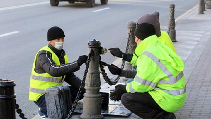 Более цивилизованно: Оставшиеся без работы гастарбайтеры могут наводнить Петербург