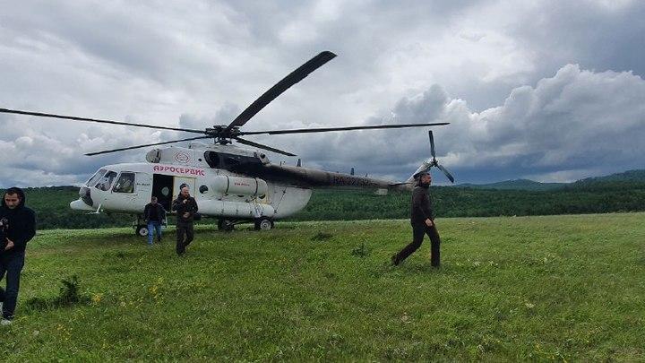 Осипов с Гурулевым вылетели в Шелопугинский и Газимуро-Заводский районы