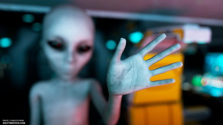 На МКС могут быть следы инопланетян