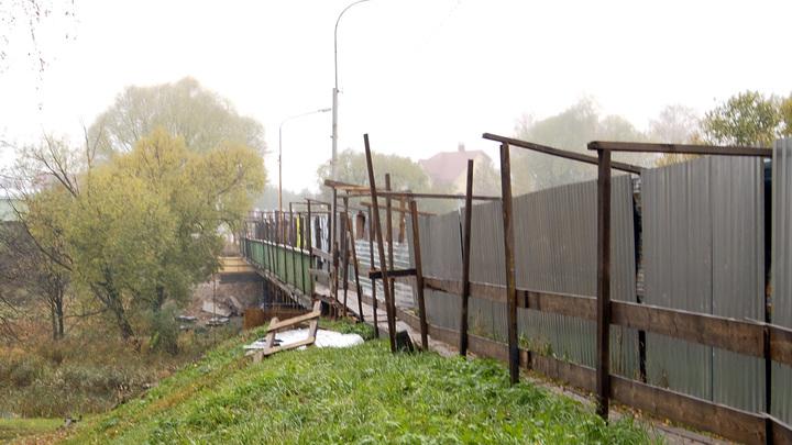 Суздальский западный мост по-прежнему не сдан
