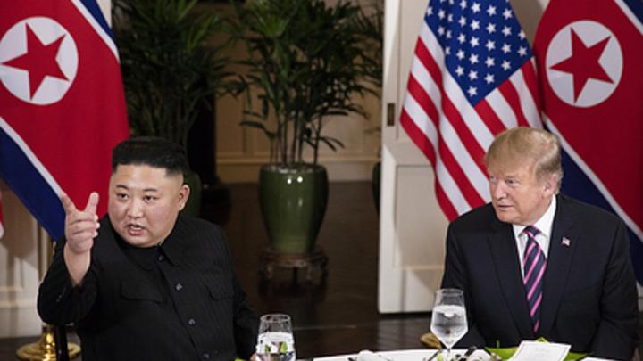 Новый уровень низости: Трамп обвинил демократов в срыве саммита с Ким Чен Ыном