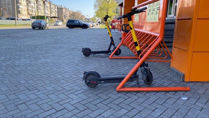В Челябинске электросамокатам программно ограничили скорость в парке Гагарина