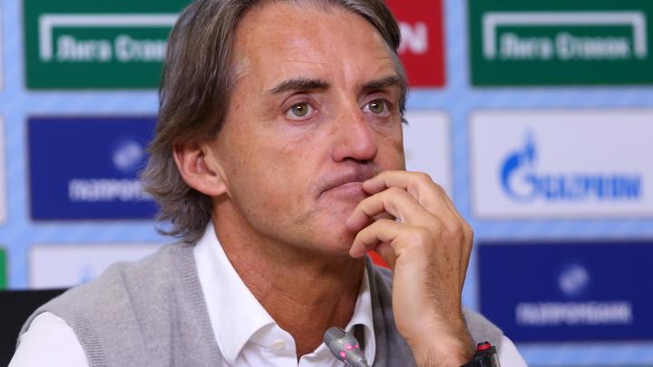 Роберто Манчини уже в Риме и ведёт переговоры о своём трудоустройстве в сборной страны