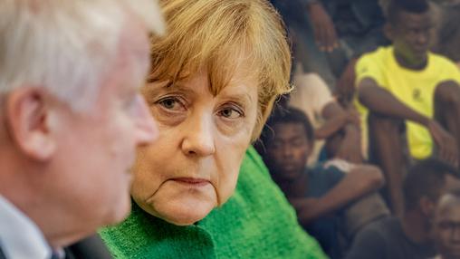 Меркель и Зеехофер сцепились из-за мигрантов