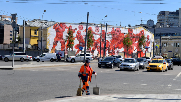 Граффити сизображением Дзюбы, Акинфеева иЧерчесова появится в столице России