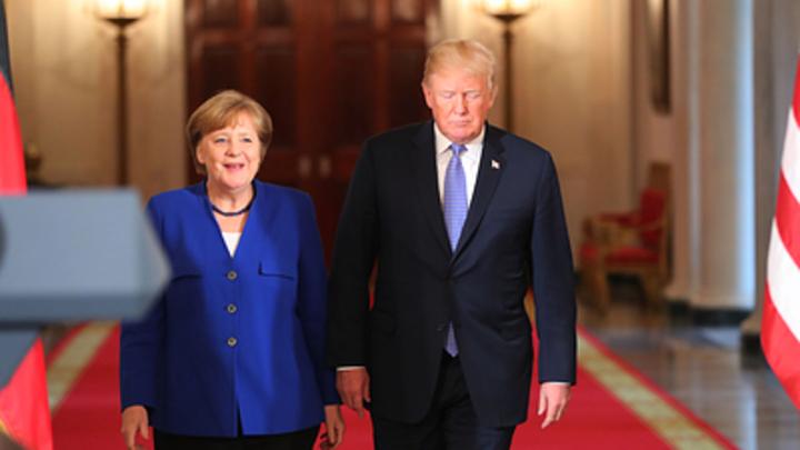 Нам конфликт не нужен: Меркель раскрыла США тайну антироссийских санкций