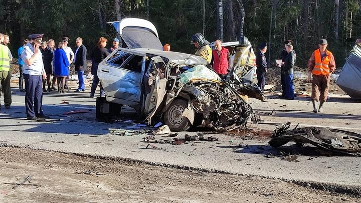 Женщина погибла в смертельном ДТП около Семенова