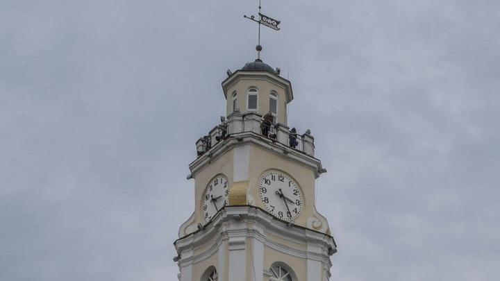 Жители Витебска будут просыпаться под государственный гимн Беларуси