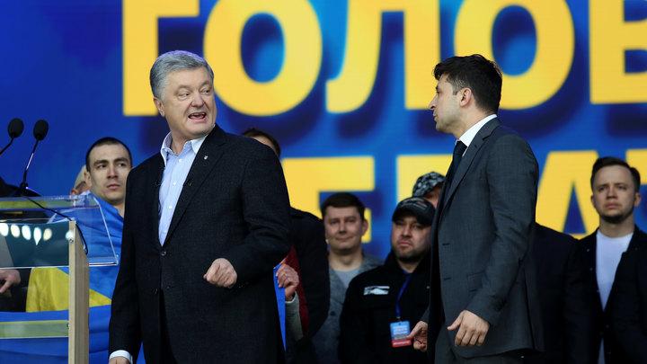Порошенко поручил Зеленскому продолжить ужесточение санкций против России