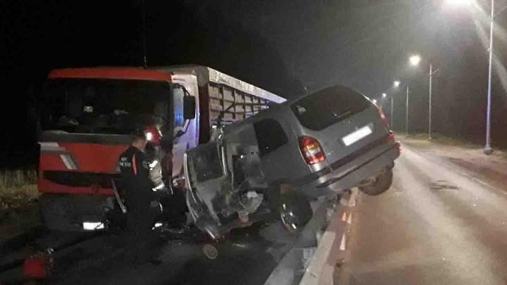 В Ивановском районе в ДТП с фурой погиб водитель «Опеля»