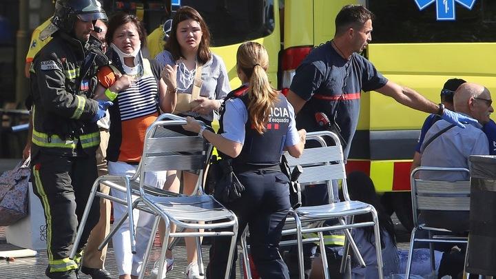 Полиция признала наезд на пешеходов в Барселоне терактом