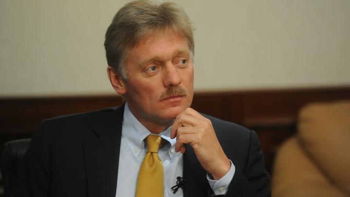 Позиция не меняется: Песков жестко ответил на псевдорасследование о своем сыне
