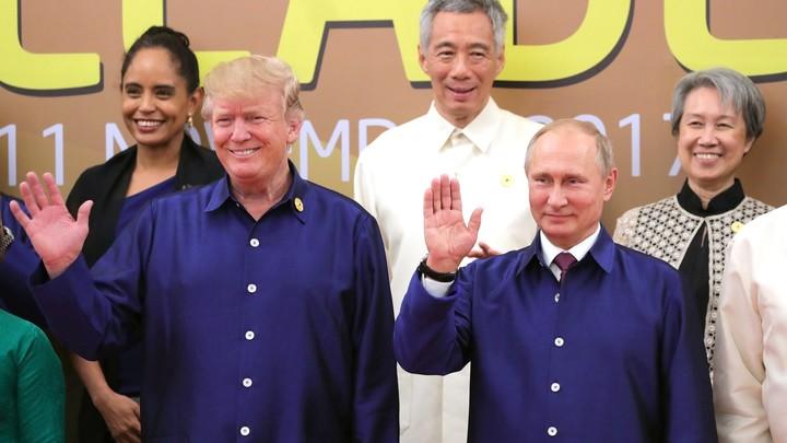 О торговле, Ким Чен Ыне, Украине: Трамп и Путин говорили по телефону целый час и остались довольны друг другом