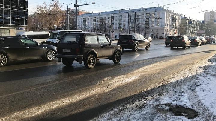 Текслер запретил подрядчикам солить дороги в Челябинске