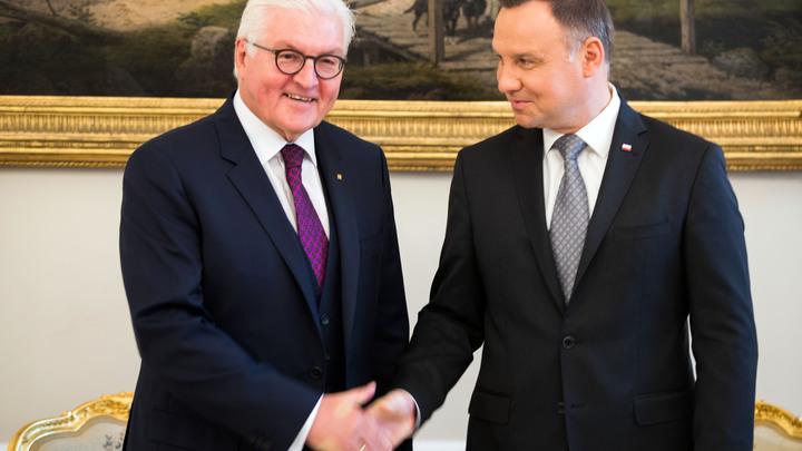 Все ради отмены «Северного потока - 2». Президент Польши попытался «охмурить» Штайнмайера