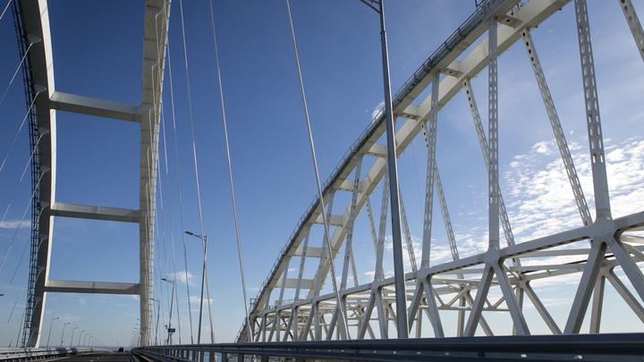 Проблема съехавшего фрагмента Крымского моста решена. Отчет строителей