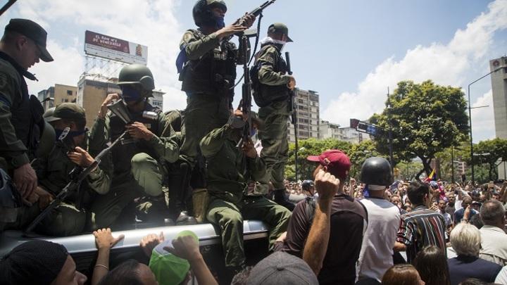 Венесуэла: Гуайдо ждёт американского вторжения, Мадуро готов защищаться