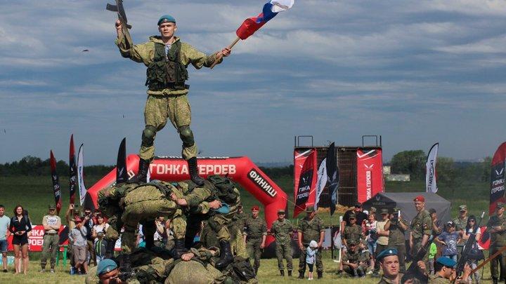 В Санкт-Петербурге проходит «Гонка Героев Urban»