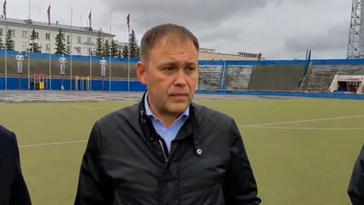 Глава Кемерова Илья Середюк рассказал о перспективах развития стадиона «Химик»