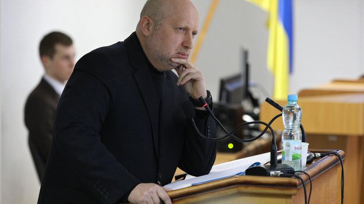 Украинская ракета настолько умная, что поразила свою же пусковую установку: Оговорка Турчинова насмешила соцсети