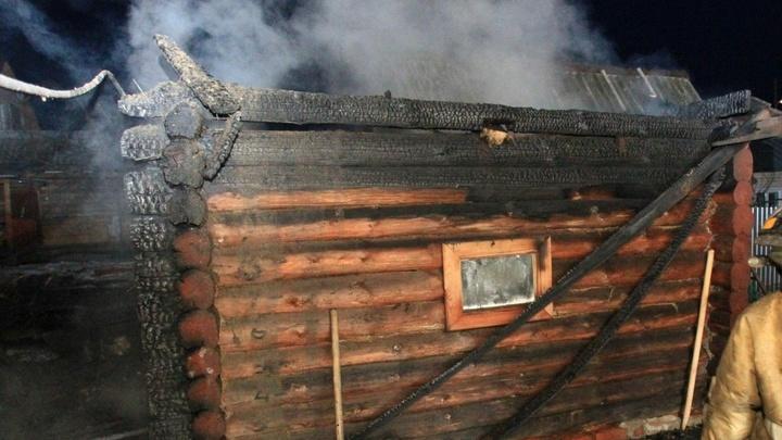 В Ивановской области за ночь с субботы на воскресенье сгорели две бани
