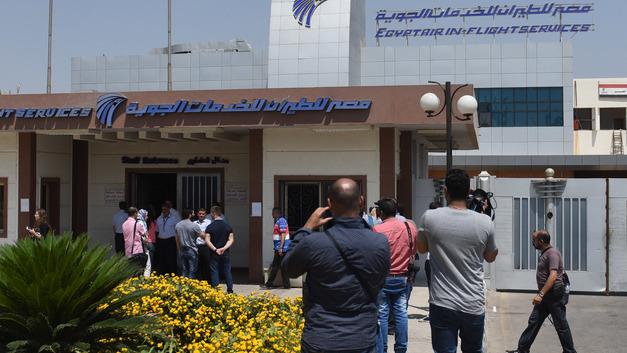 Склад топлива аэропорта Каира взлетел на воздух - фото