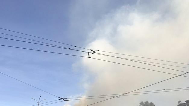 Опубликовано видео пожарана крупнейшем в мире рыбном рынке Цукидзи
