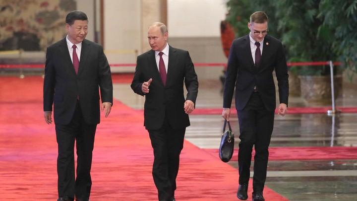 Путин вЮАР встретился сСиЦзиньпином