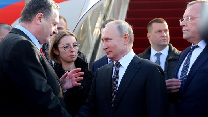 До слёз: Путин парой искренних слов растрогал Иерусалим