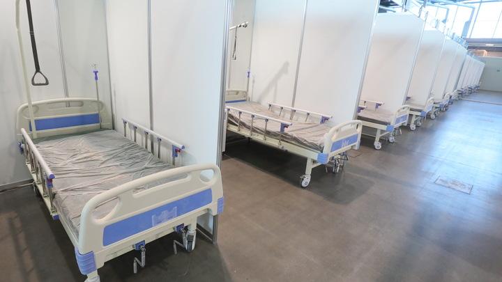 В Санкт-Петербурге остались свободны только 7 % коек для пациентов с коронавирусом