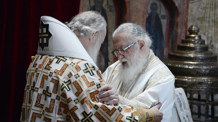 С подачи западных кураторов? Предстоятель Грузинской Церкви прислал ноту протеста Патриарху Кириллу