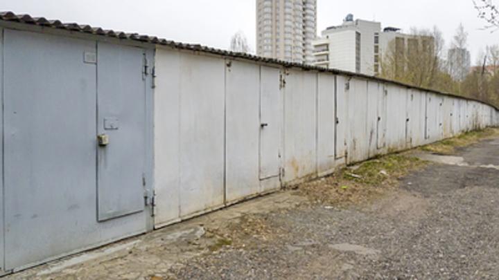 В Самарской области украли гараж: сдали на металлолом