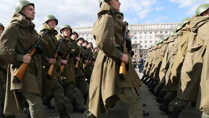 10 фото с репетиции парада Победы в Челябинске