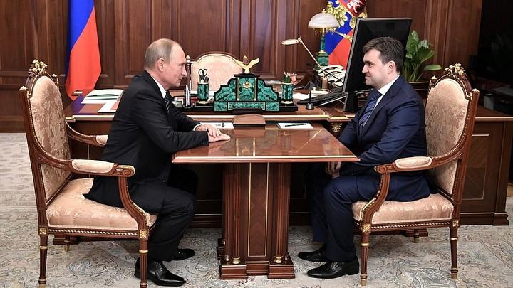 Замглавы МЭР Воскресенский стал врио губернатора Ивановской области