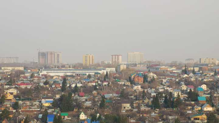Смог над Новосибирском может развеяться 28 апреля