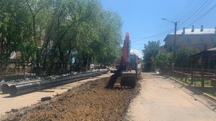 Движение ограничат на перекрёстке улиц Полины Осипенко и Забайкальского Рабочего в Чите