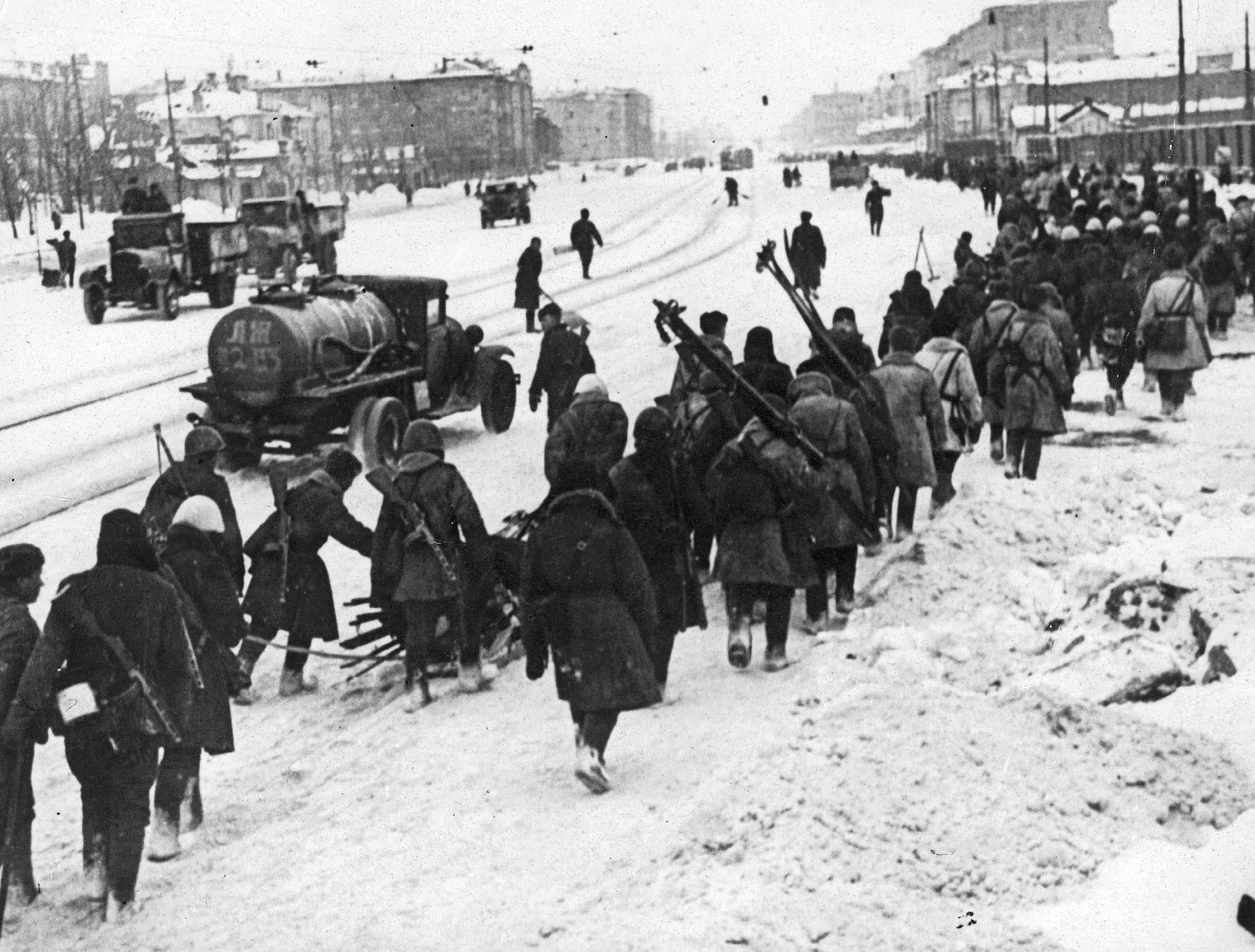 Редкие фотографии блокады ленинграда